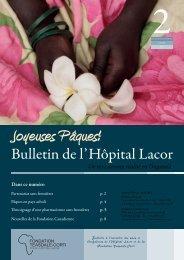 Bulletin du Lacor 2 2012.pdf - Fondazione Corti