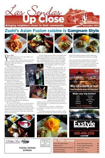 November 2012 - Up Close Publications