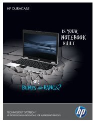 Learn more about HP DuraCase - Hewlett Packard