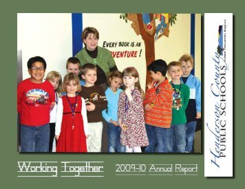 Working Together, 2009-2010 Annual Report - Henderson County ...