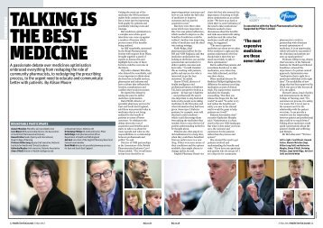 Talking is the best medicine - Health Service Journal