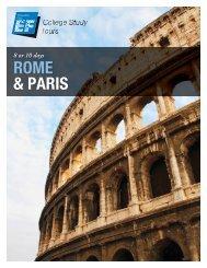 ROME & PARIS - EF College Study Tours