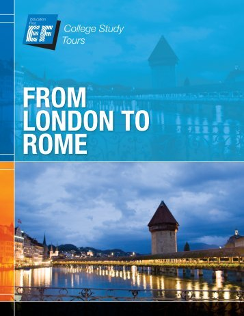 from london to rome - EF College Study Tours