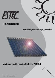Montageanleitung VR14 Dachbügel 0 - Gerenda Solar