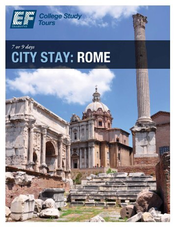 CITY STAY: ROME - EF College Study Tours