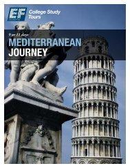 MEDITERRANEAN JOURNEY - EF College Study Tours