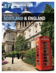 SCOTLAND & ENGLAND - EF College Study Tours