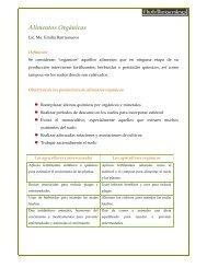 Alimentos Orgánicos - NutriLearning