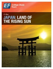 JAPAN: LAND OF THE RISING SUN - EF College Study Tours