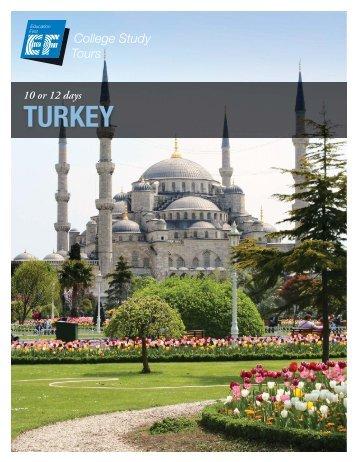 TURKEY - EF College Study Tours