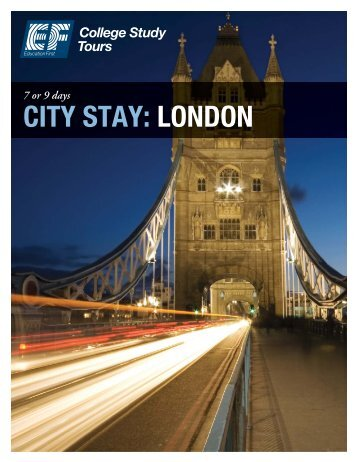 CITY STAY: LONDON - EF College Study Tours