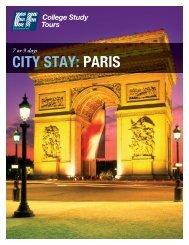 CITY STAY: PARIS - EF College Study Tours
