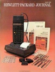 1980 , Volume , Issue Mar-1980 - HP Labs - Hewlett Packard