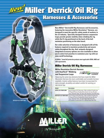 Derrick/Oil Rig Harness Sheet:Layout 1 - Miller Fall Protection