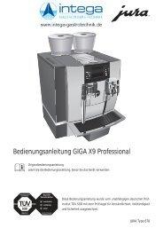Bedienungsanleitung GIGA X9 Professional