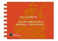 Hva er EUREF89… …og hvilke følger får det for landmåling i ... - Plan