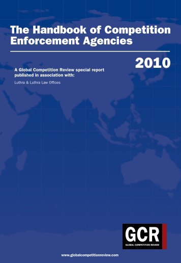 The Handbook of Global Competition Agencies - Luthra & Luthra