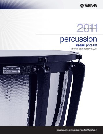 Yamaha Percussion - High School Music Service, Inc.