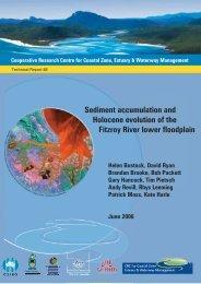 Sediment accumulation and Holocene - OzCoasts
