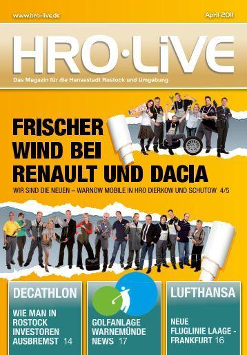 RENAULT UND DACIA - HRO Live