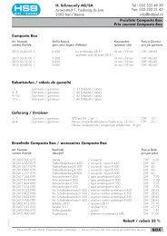 Formulaire de commande PDF. - HSB Biel-Bienne
