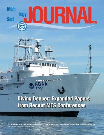 Diving Deeper: Expanded Papers from Recent MTS Conferences