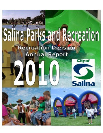Annual Report Cover 2010 - City of Salina, Kansas