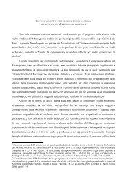Fonti e prospettive metodologiche per la storia delle città nel ...