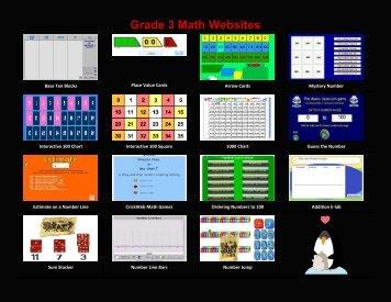 Grade 3 Math Websites