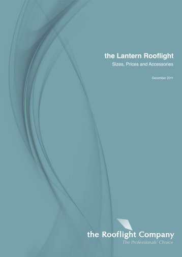 the Lantern Rooflight - Sizes and Prices - The Rooflight Company