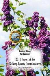 2010 Annual Report - Belknap County