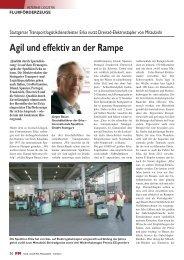 Agil und effektiv an der Rampe - Mitsubishi Gabelstapler