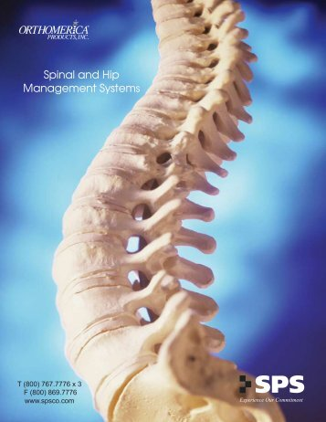 Spinal and Hip Management Systems - SPS