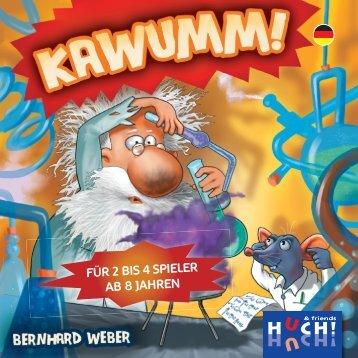 FÜR 2 BIS 4 SPIELER AB 8 JAHREN - Huch & Friends