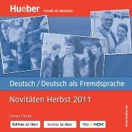 Deutsch lernen? - Hueber