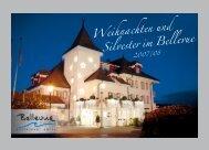 WEIHNACHTSKARTE 2007 - Hotel Bellevue Sursee