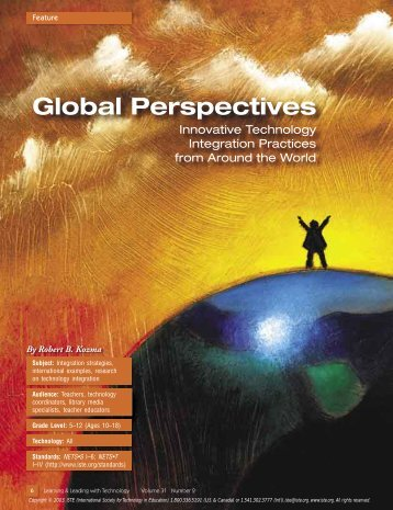 Global perspectives: innovative technology integration practices ...