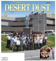 DESERT DUST JUNE 2013 PAGE 1 $21,042 - The Oasis Shriners