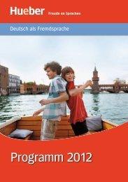 Programm 2012 - Hueber