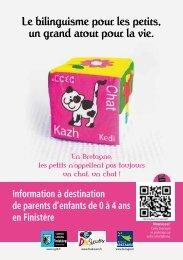 Le bilinguisme pour les petits, un grand atout pour la vie. - Divskouarn