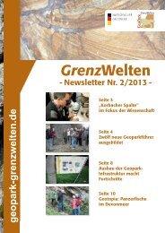 Download Newsletter - Geopark Waldeck-Frankenberg