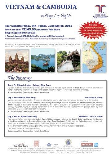 VIETNAM & CAMBODIA - Hunter Region Probus Inc Home