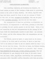RABBI NORMAN LAMM MISHPATIM THE JEWISH CENTER ...