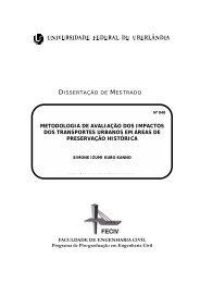 metodologia de avaliação dos impactos dos transportes urbanos em ...
