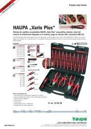 """HAUPA """"Vario Plus"""""""