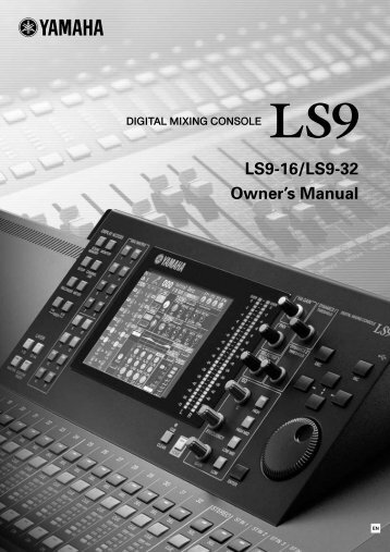LS9-16/32 Owner's Manual