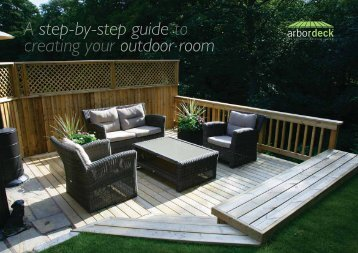Building a simple deck is easily accomplished by ... - Howarth Timber