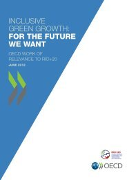 inclusive green growth: for the future we want - Circle of Blue