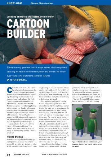 CARTOON BUILDER - Linux Magazine