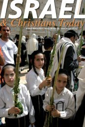 ISRAEL - Prayer letter